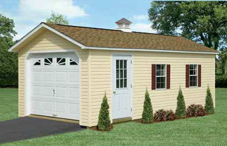 one story garages