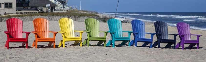 Poly Adirondack chairs offered in East Berlin, NJ